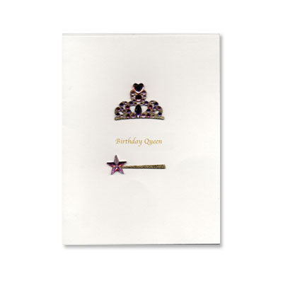 Birthday Queen Birthday Card