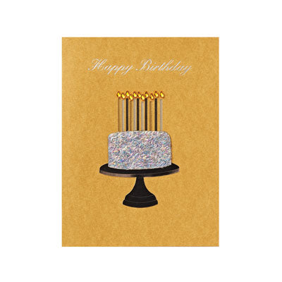 Gem Cake Birthday Card