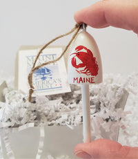 Lobster Ornament York Maine
