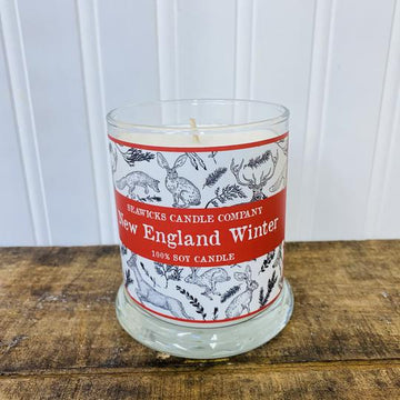 New England Winter Candle