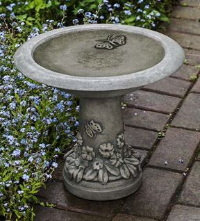 Spring Meadow Birdbath - PRE ORDER - ARRIVES EARLY MARCH 2021