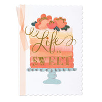 Life is Sweet Birthday Card