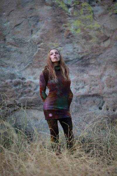 Serpent Hoodie Dress