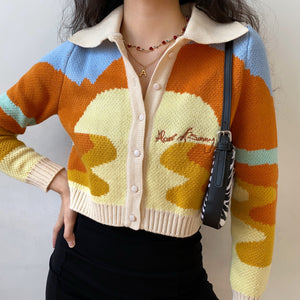 Sunset Days Knit Sweater