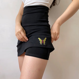 Load image into Gallery viewer, 90s Retro Butterfly Skirt ~ HANDMADE