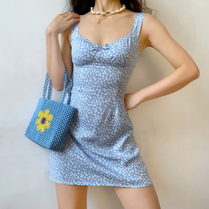 Load image into Gallery viewer, Let's Go To Brunch Mini Dress ~ HANDMADE - Pellucid