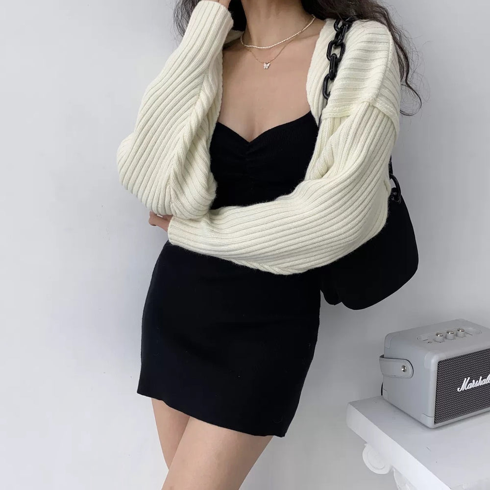 Retro Knitted Shawl