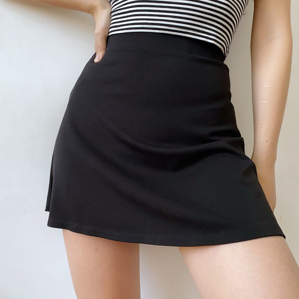 Load image into Gallery viewer, Roman Black Skirt ~ HANDMADE