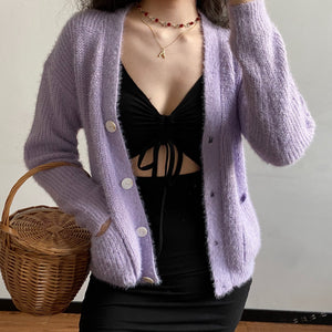 Load image into Gallery viewer, Seoul Style Knit Cardigan