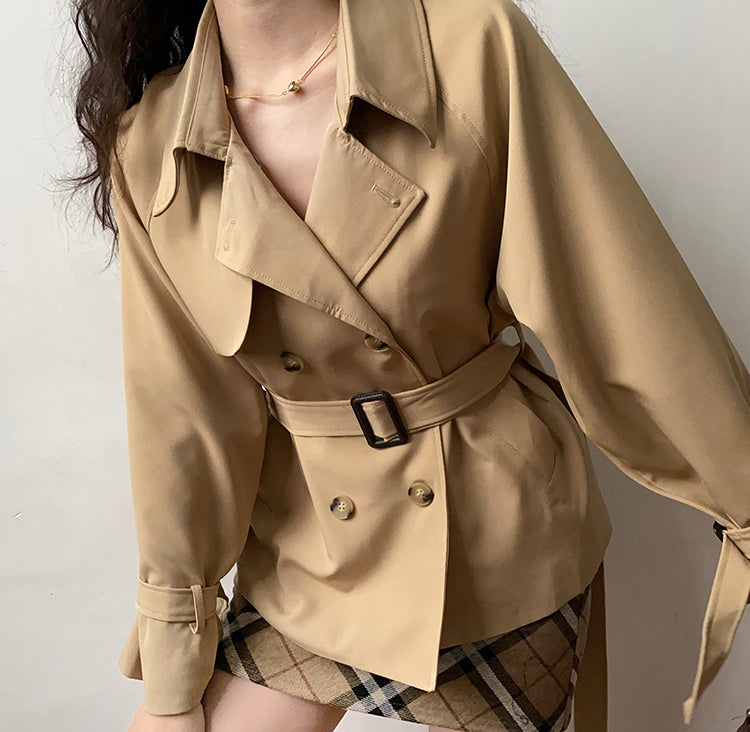 Load image into Gallery viewer, London Life Trench Coat // Khaki