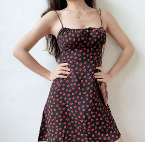 Vintage Capsule Rose Mini Dress