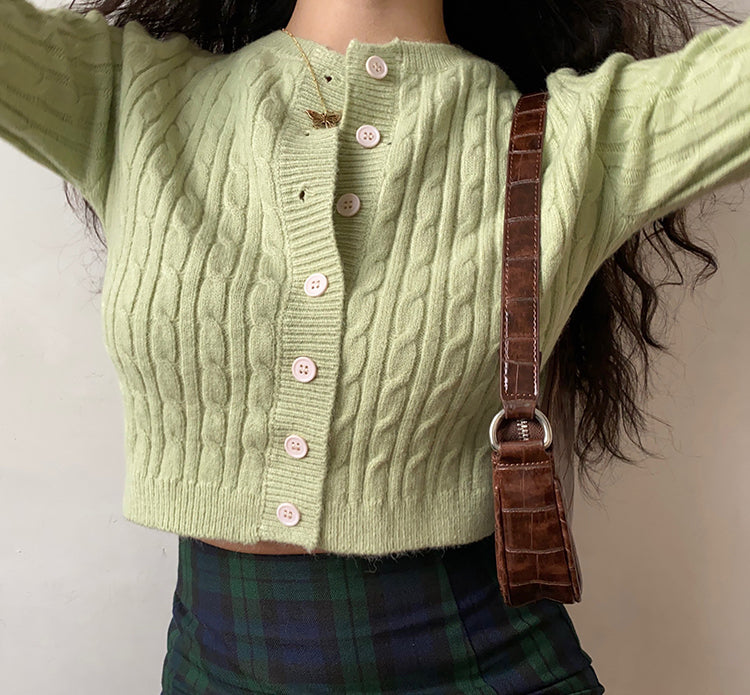 Load image into Gallery viewer, Holly Twist Cardigan