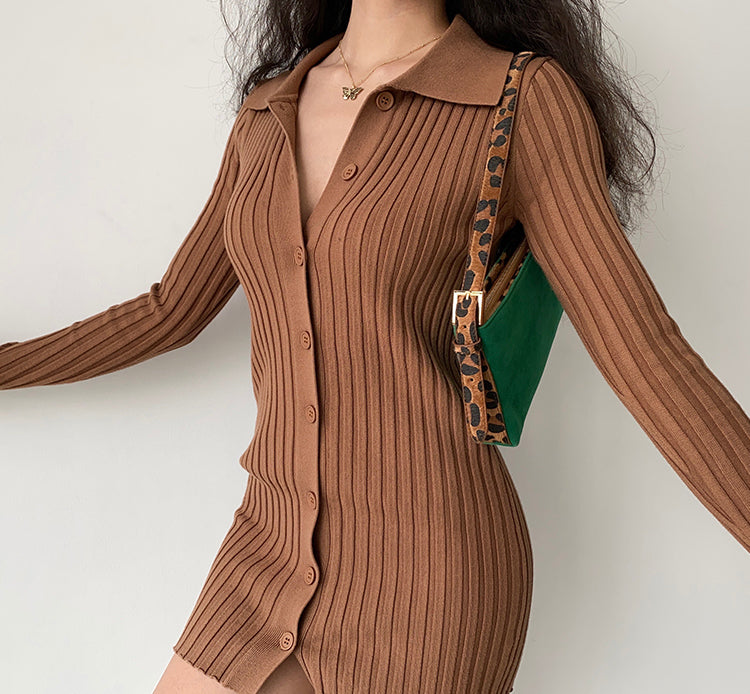 In Touch Ribbed Dress