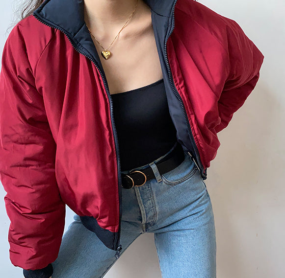 Retro Double Sided Sport Jacket