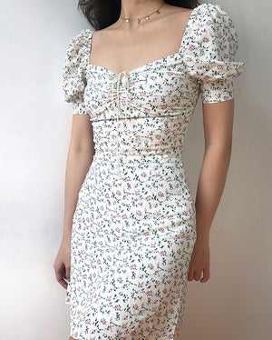 Load image into Gallery viewer, Pixie Floral Bustier Dress - Pellucid