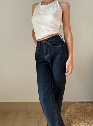 Venus Denim Jeans // Dark