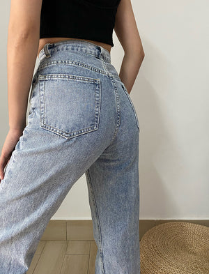 Kodi Split Denim Jeans