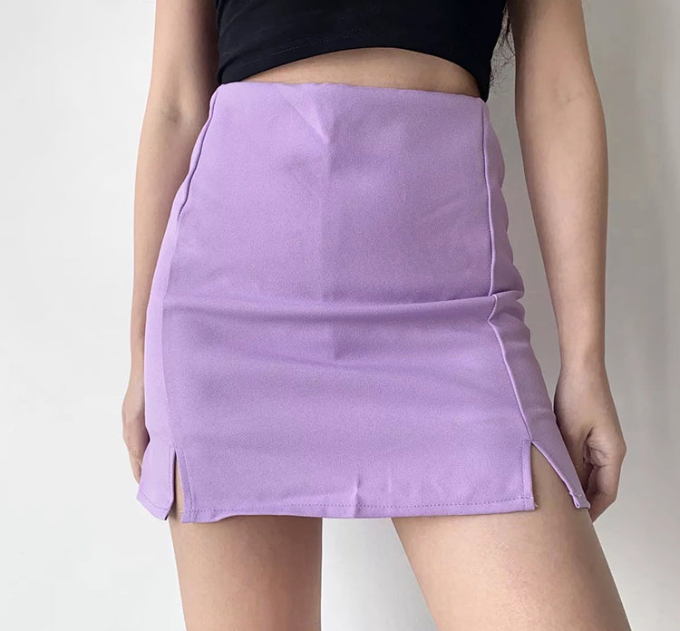 Load image into Gallery viewer, Leyla Double Split Skirt