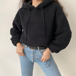 Load image into Gallery viewer, Lambswool Drawstring Pullover