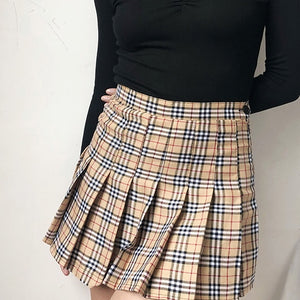 Nova Check Tennis Skirt - Pellucid