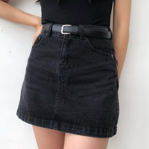 Load image into Gallery viewer, Vintage Denim Skirt - Pellucid