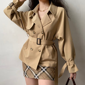 London Life Trench Coat // Khaki