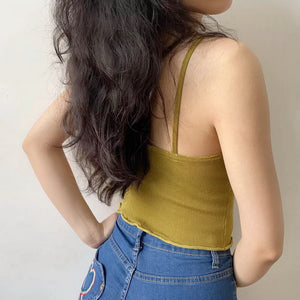 Load image into Gallery viewer, 1960 Mustard Cami ~ HANDMADE - Pellucid
