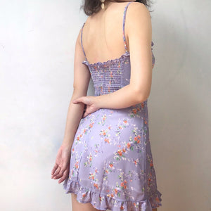 Load image into Gallery viewer, Lavender Floral Frannie Dress - Pellucid
