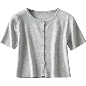 Athena Short-Sleeve Cardigan