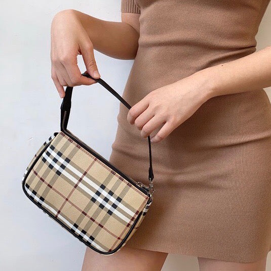 Nova Check Mini Bag ~ HANDMADE