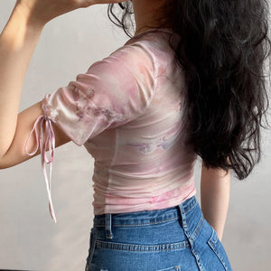 Load image into Gallery viewer, Dreamy Mesh Top [Handmade] - Pellucid
