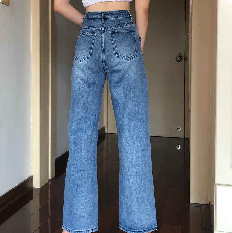 60s Cowgirl Flare Jeans - Pellucid