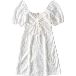 Molly Lace Drawstring Dress