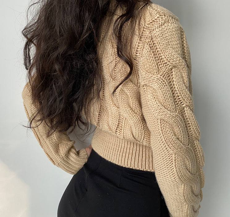 Myra Cable Knit Sweater