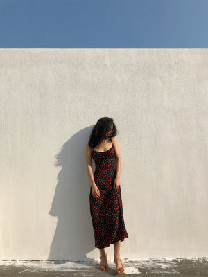 Load image into Gallery viewer, Vintage Capsule Rose Midi Dress - Pellucid