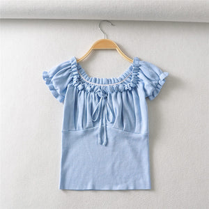 In The Clouds Knit Blouse