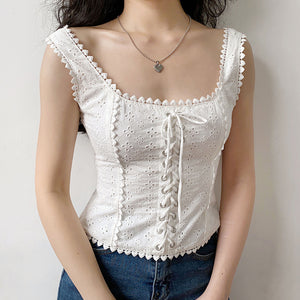 Baroque Embroidered Corset [Handmade] - Pellucid