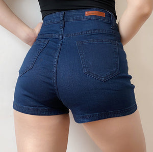Shape Denim Shorts - Pellucid