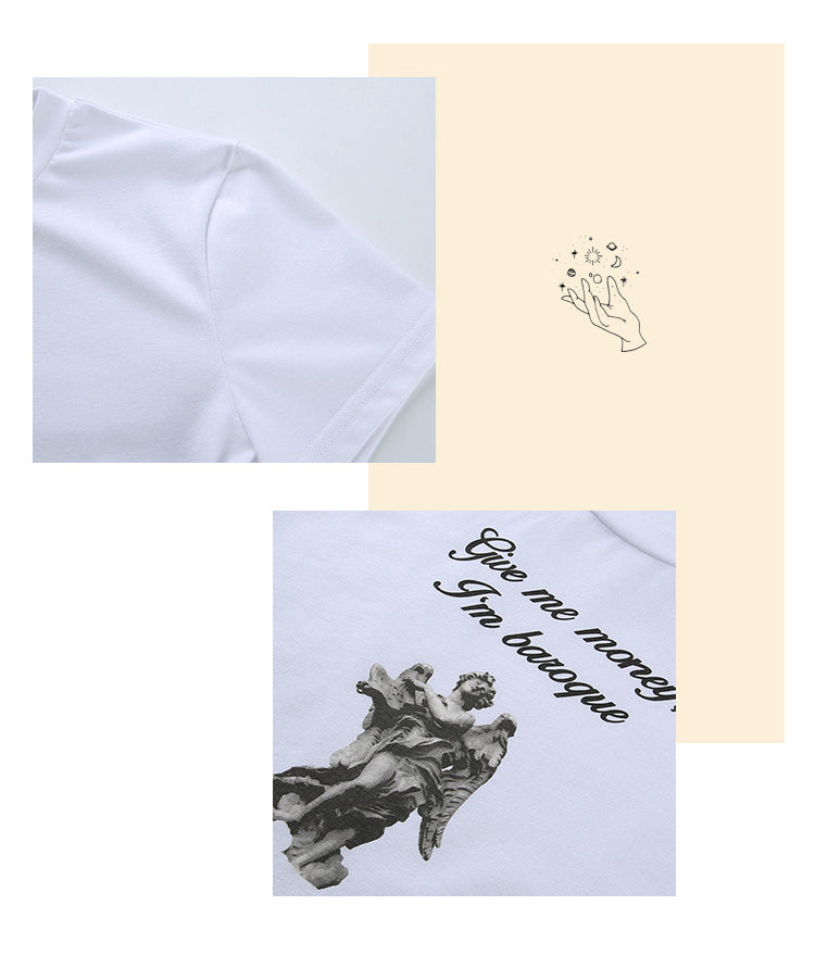 Load image into Gallery viewer, Baroque Baby Tee - Pellucid