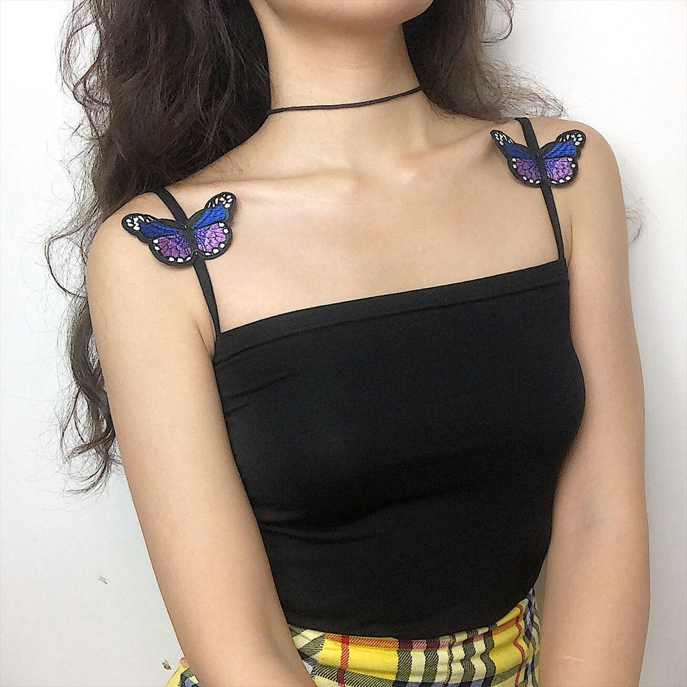 Load image into Gallery viewer, Purple Butterfly Kiko Cami - Pellucid