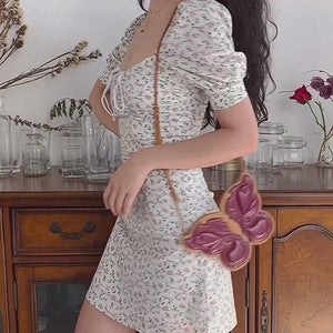 Load and play video in Gallery viewer, Pixie Floral Bustier Dress