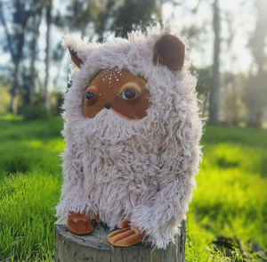 Mystical and Mythical Woodland Creature Plush Companions