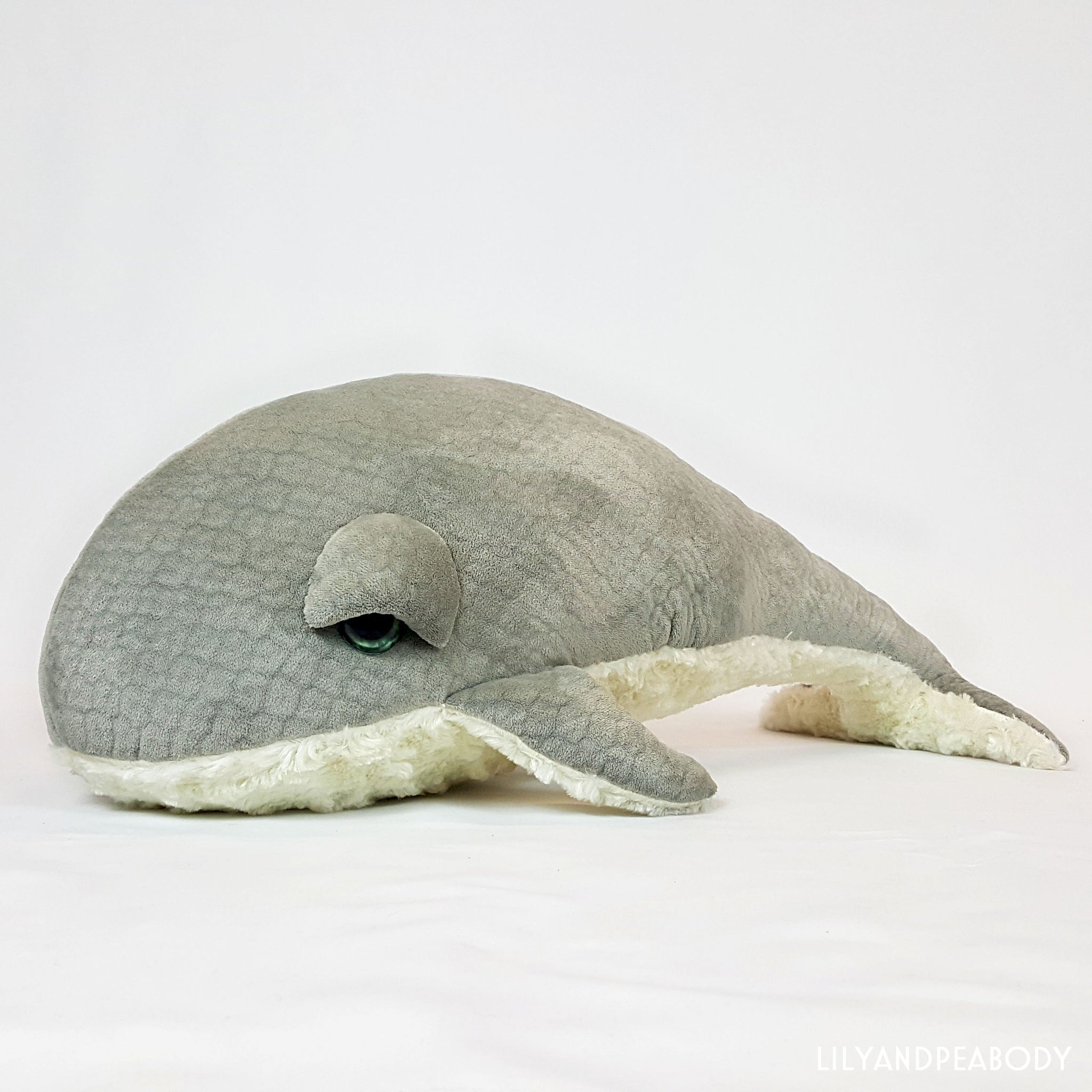 Whale Stuffed Animal Plush Sea Creature
