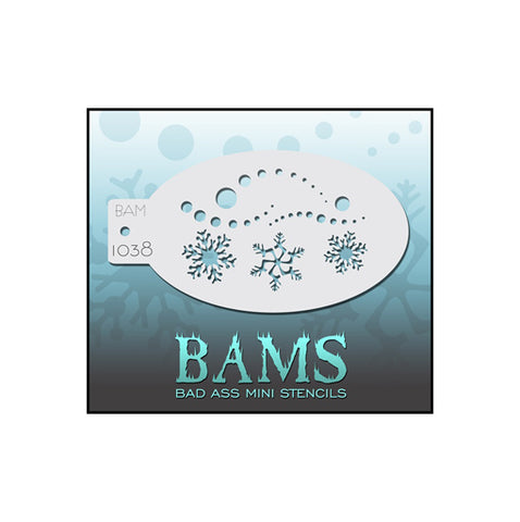 BAMS 1038 Snowflakes and Dots