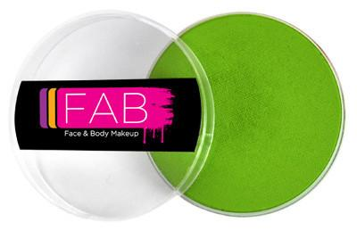 fab face and body paint lime green
