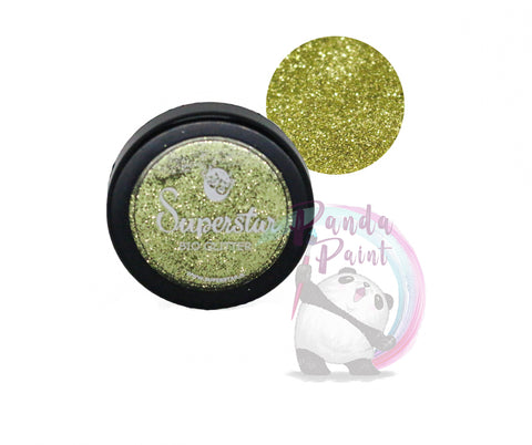 Cosmetic Bio-Glitter Gold 6 ml Jar