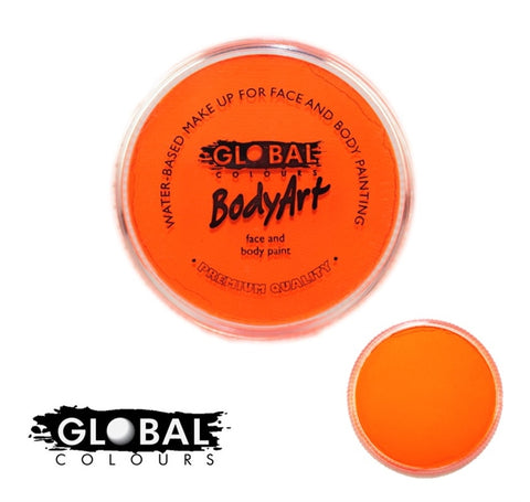 Global Colors Paint- Neon Orange 32g
