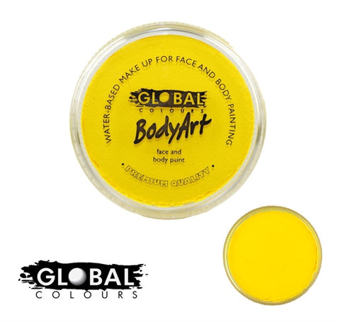 Global Colors Paint- Neon Yellow 32g