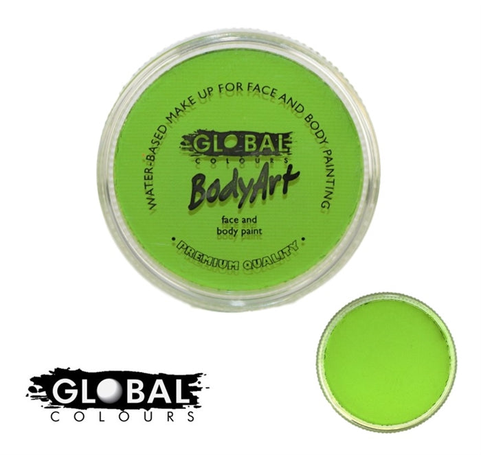 global lime green paint