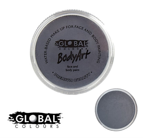 Global Body Art Face Paint - Standard Stone Grey 32g